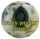 Dirty Pretty Things - 'Bang Bang You're Dead' Button Badge